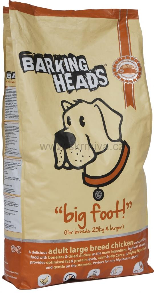 Barking Heads Professional Large Breed Chicken 18 kg