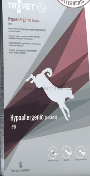 TROVET Hypoallergenic IPD (Insect) 3kg