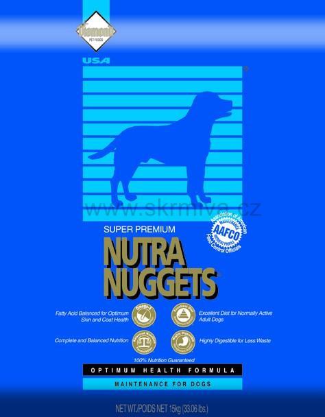 Image of Balíček pes č.07 - Nutra Nuggets Maintenance 15kg + konz. 6x800g+piškoty