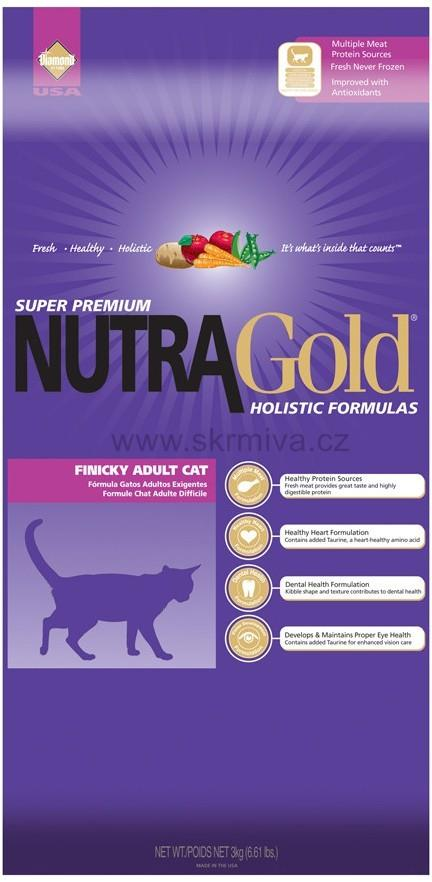 Nutra Gold Finicky Adult Cat 2 x 7,5kg