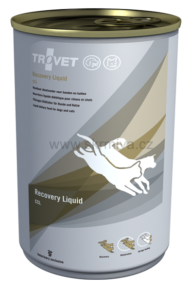 TROVET Recovery Liquid dog/cat CCL 400g