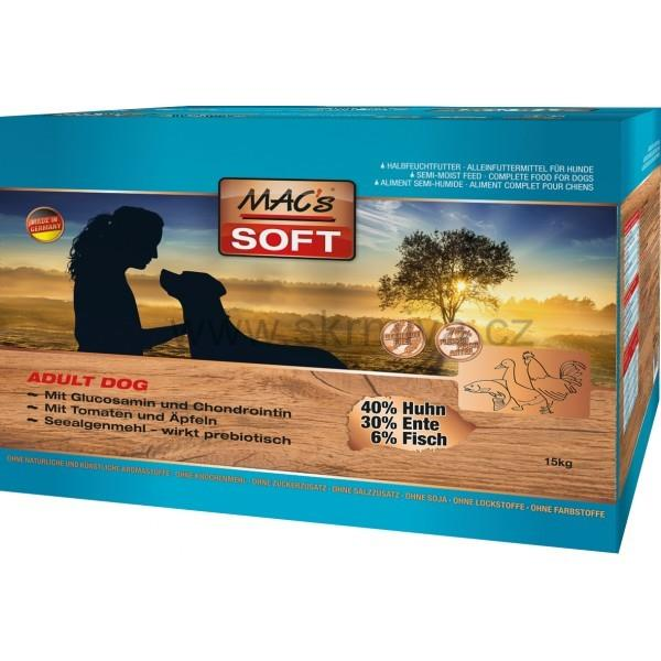 MACs Soft Dog grain free 15kg (3x5kg)