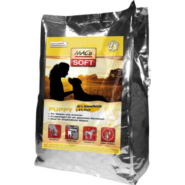 MACs Soft Dog kuře puppy 15kg (3x5kg)